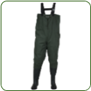 2-Ply Rubber Boot Foot Chest Wader