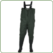Compass 360 Oxbow 2-Ply Rubber Boot Chest Wader