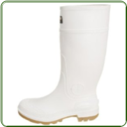 Pro Line White Rubber Boots 14""