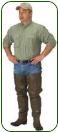 Caddis Bootfoot Hip Waders