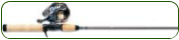 Spincast Rod Reel Combo