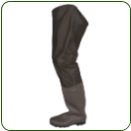 PVC Cleated Hip Waders