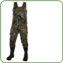Neoprene Camo Bootfoot Chest Wader